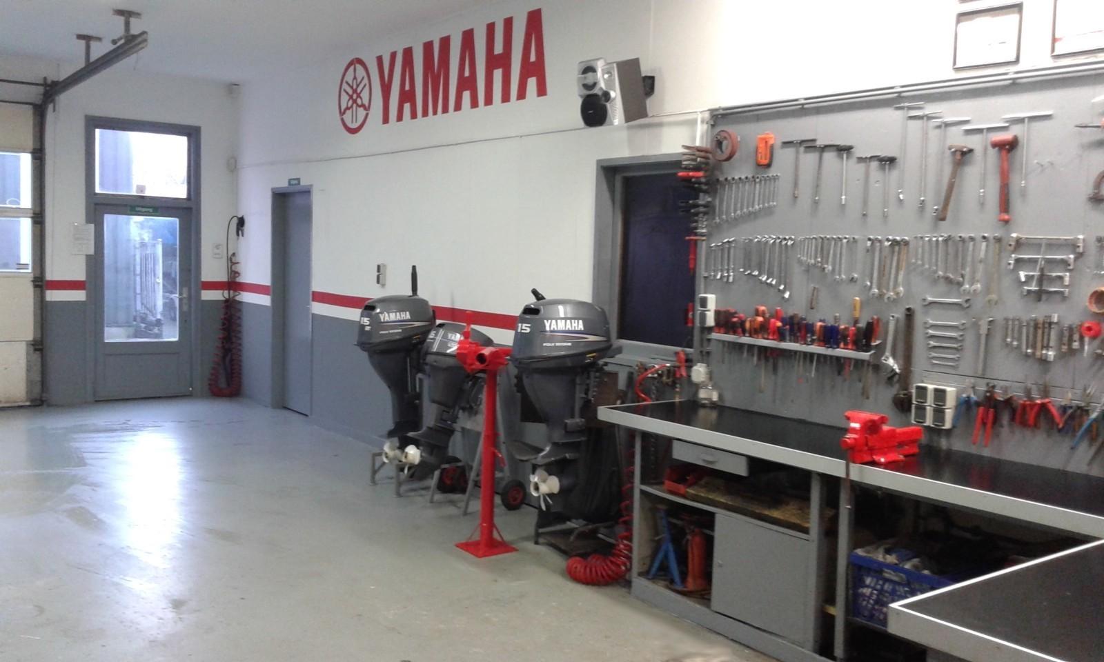 werkplaats yamaha